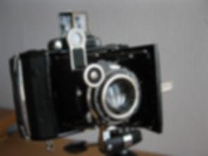 Carl Zeiss Ikon Super Ikonta 530/1 prewar rangefinder german camera with uncoated Jena Tessar lens f3.5