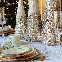 クリスマスてーテーブル