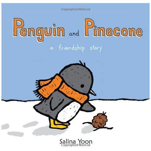 Book & Brush (aka story time) Penguin & Pinecone