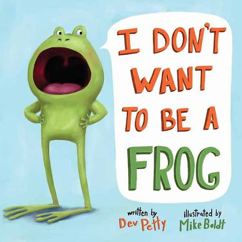"""Leap Day Story Time """"I don't want to be a Frog"""""""