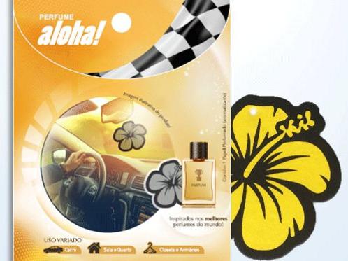 Aromatizante Aloha! Amarelo - SUPER MILLION