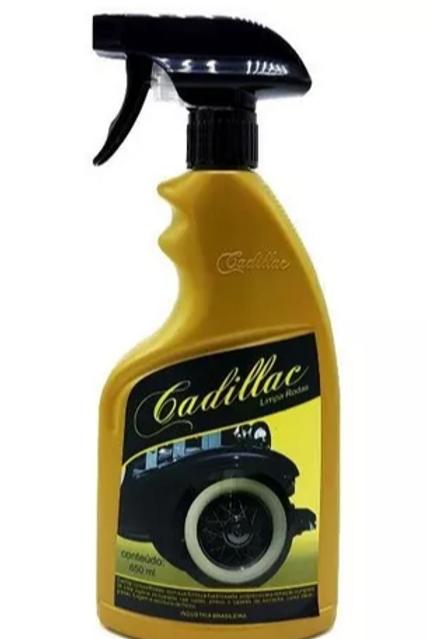 Limpa Rodas e Pneus 650ml - Cadillac