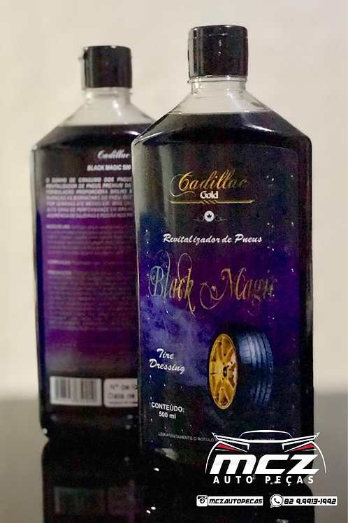 Black Magic (Pretinho para Pneu) 500ml - Cadillac