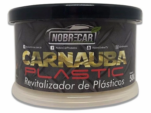 CARNAUBA PLASTIC REVITALIZADOR DE PLASTICOS 500G NOBRECAR
