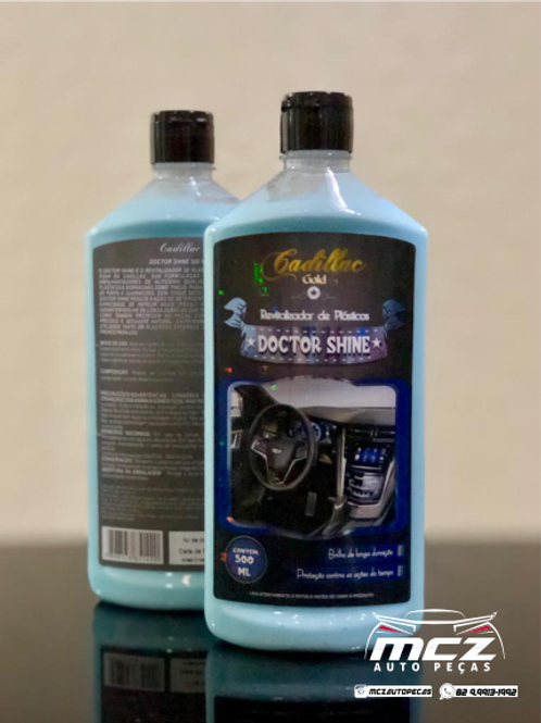 Doctor Shine (Revitalizador de Plásticos 500ML) - Cadillac