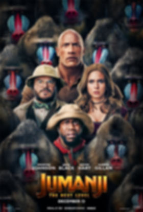 Jumanji The Next Level Dwayne Johnson Kevin Hart Things to do in Trail