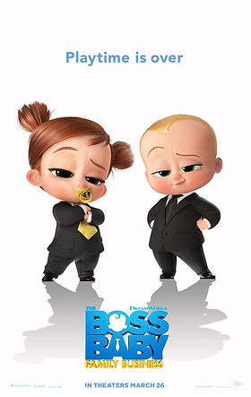 Boss Baby 2 Animated Family Comedy