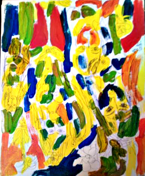Artist: Yaya Cassio - Picasso's Dad