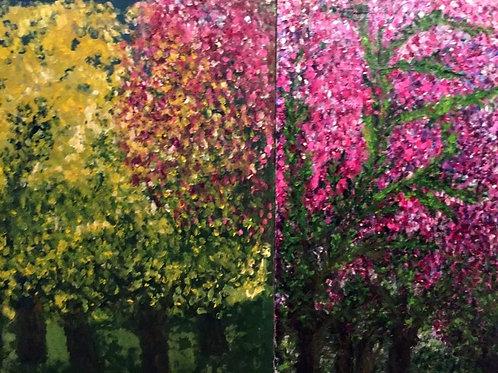 Spring - Diptych