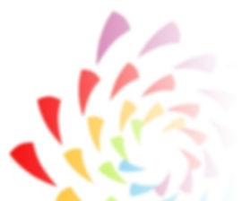 El logo Auroia se basa en la sucesión de Fibonacc, y simboliza el estado de ánimo que lleva a la Prosperidad.