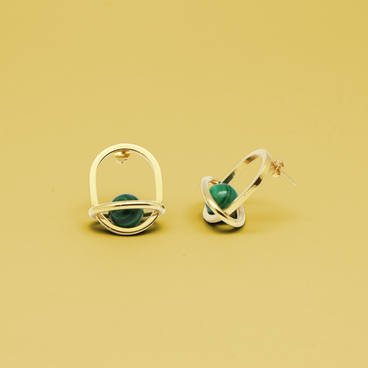 Boucles d'oreille Seal / Seal earrings