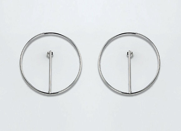 Boucles ORBE MM Argent 925‰