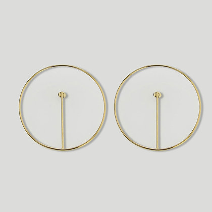 Boucles ORBE GM Plaqué or
