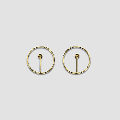 Boucles ORBE PM Plaqué Or