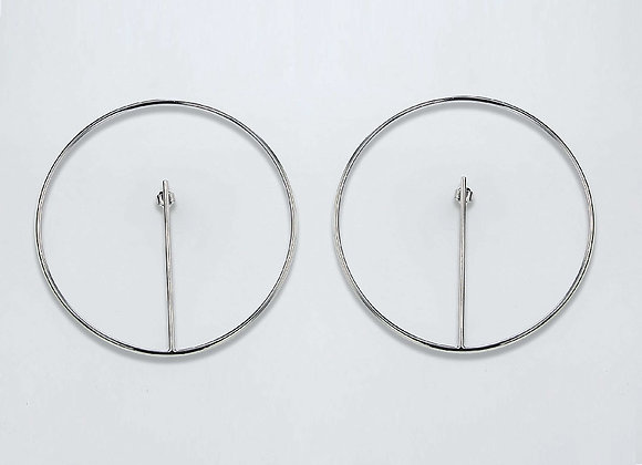 Boucles ORBE GM Argent 925‰