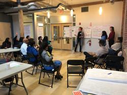 Training leaders to facilitate community development