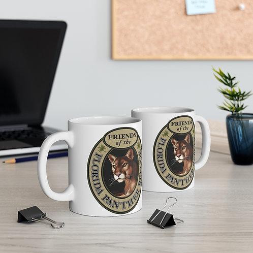 Friends of the Florida Panther Refuge Ceramic Mug 11oz