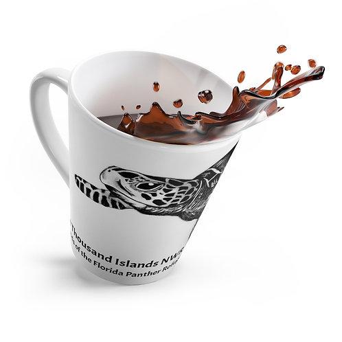Sea Turtle Latte Mug