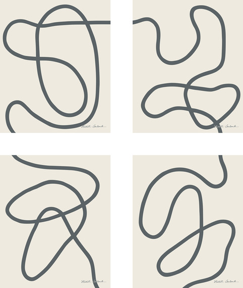 Nikita Coulombe-Untitled 18, 19, 20, and 21