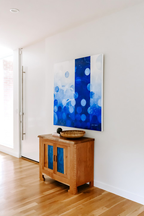 Portal I from the Dark to Light series featured by Guest House in a private residence in Denver, Colorado.