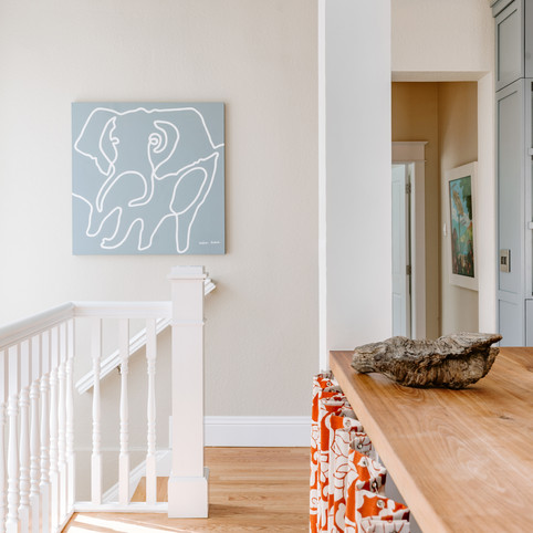 Elephant I from the One-Liners series styled by Kat Doucette and featured by Guest House in a private residence in Boulder, Colorado.