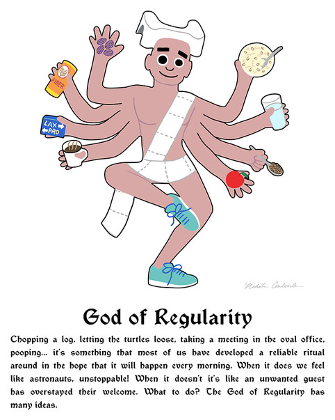Nikita Coulombe-God of Regularity