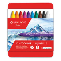 Caran d'Ache Neocolor II Water Soluble Wax Pastel Artists' Crayons