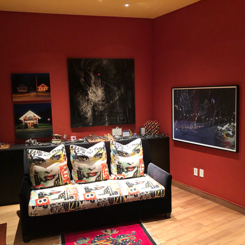 Portal II from the Dark to Light series installed in a private residence in Dallas, Texas.