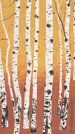 Aspen Trees I