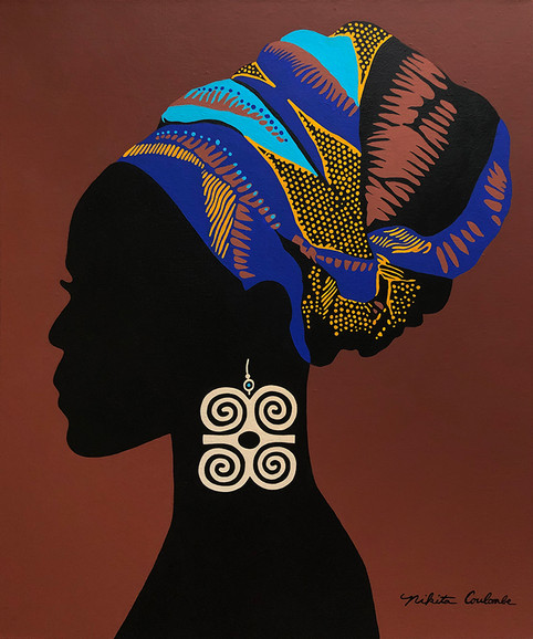Nikita Coulombe-African Woman Silhouette