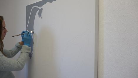 Nikita Coulombe painting Elephant I