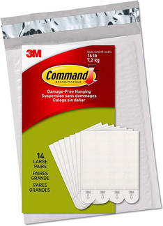 Command Heavy Duty Picture Hanging Strips