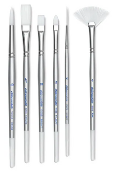 Silverwhite Brushes