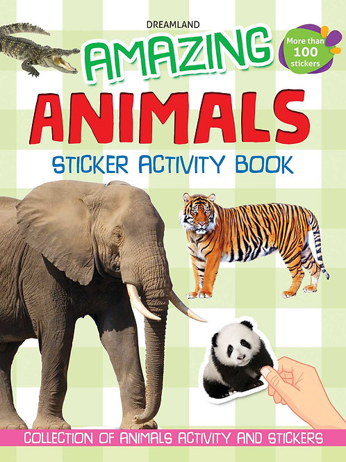Amazing Animals (Sticker Activity Book)