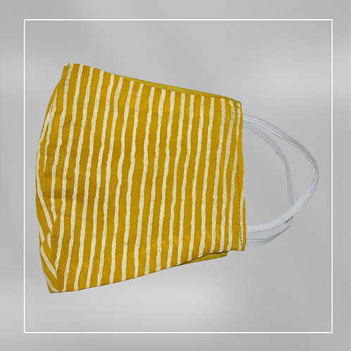 Reusable 100% Cotton Face Mask - Double side use, Easy to breadth #4