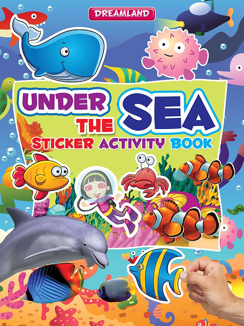 Sticker Activity Book - Under the Sea
