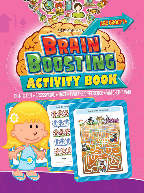 Brain Boosting Activity Book- Age 7+