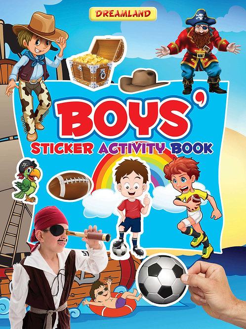 Sticker Activity Book - Boys