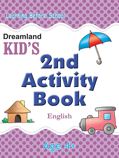 Kid's 2nd Activity Book - English