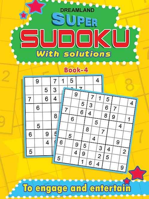 Super Sudoku With Solutions Book 4