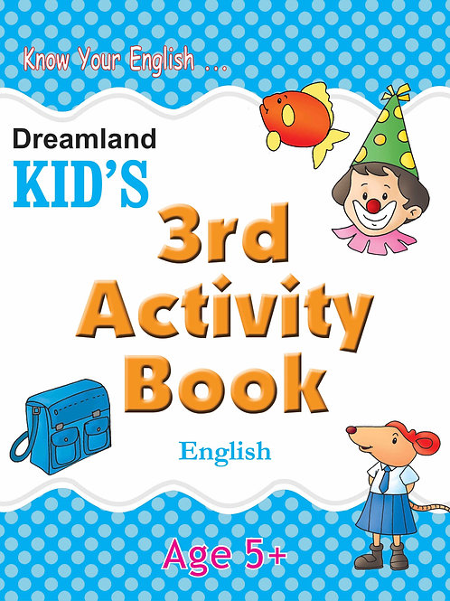 Kid's 3rd Activity Book - English