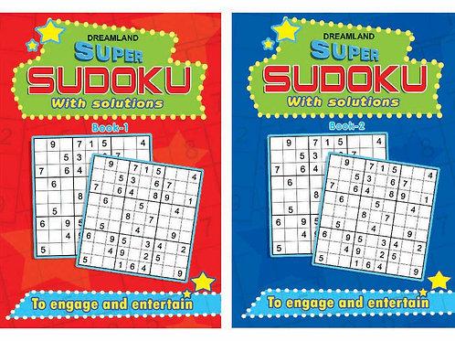 Super Sudoku pack - 1 (2 Titles)