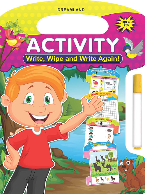 Write and Wipe Book - Activity