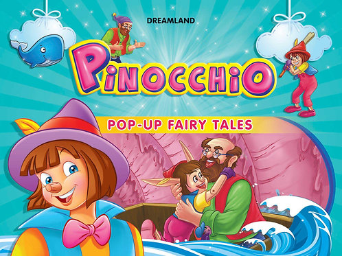 Pop-Up Fairy Tales - Pinocchio