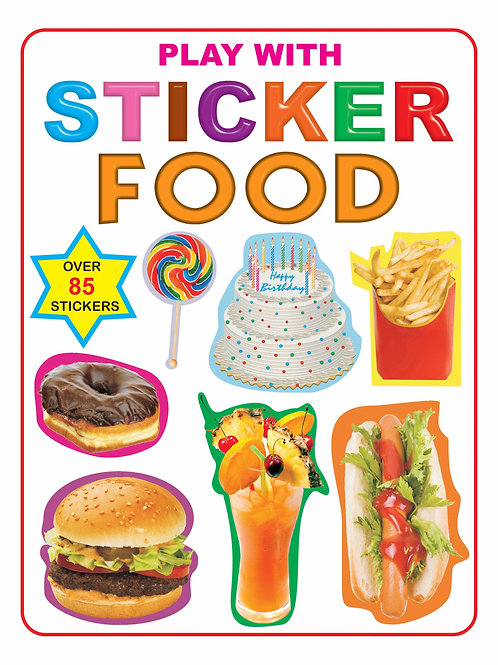 Play With Sticker - Food