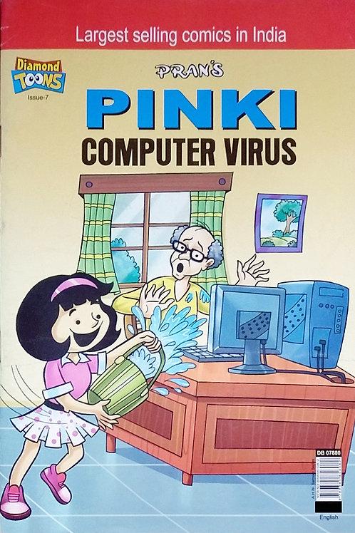 PINKI AND COMPUTER VIRUS