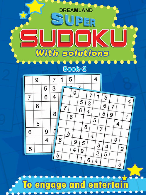 Super Sudoku With Solutions Book 2