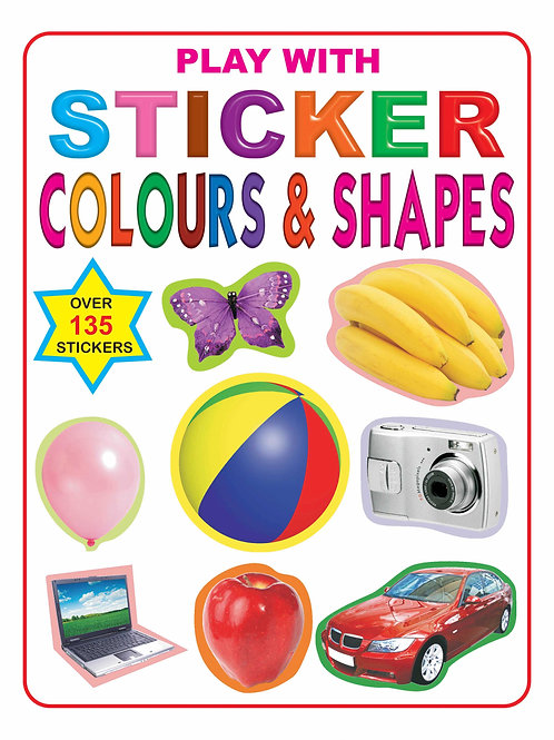Play With Sticker - Colour & Shapes