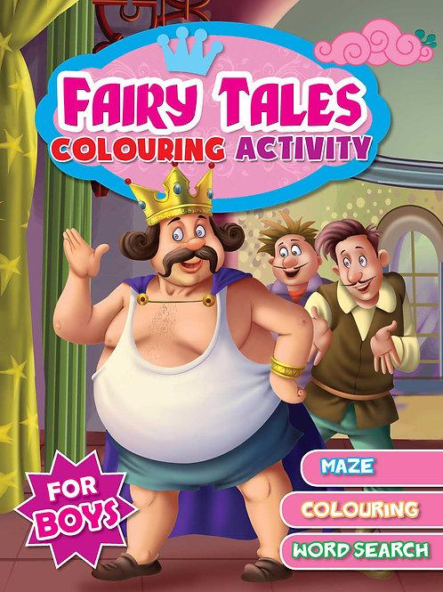Fairy Tales Colouring Activity- For Boys