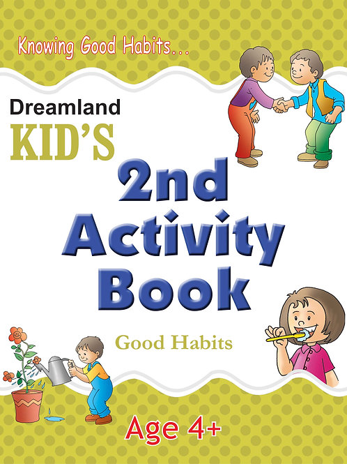 Kid's 2nd Activity Book - Good Habit